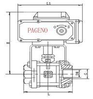 PHRQ911F内螺纹电动球阀