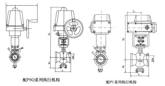 PHRVQ940W电动V型球阀