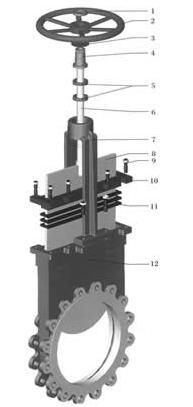 PKZPZ973H电动刀型闸阀