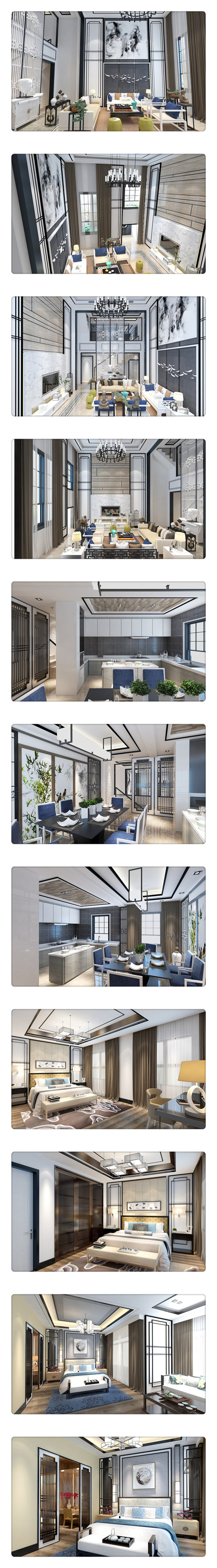营口中华城新中式设计案例