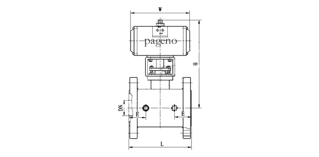 PDRBQ641F气动保温球阀