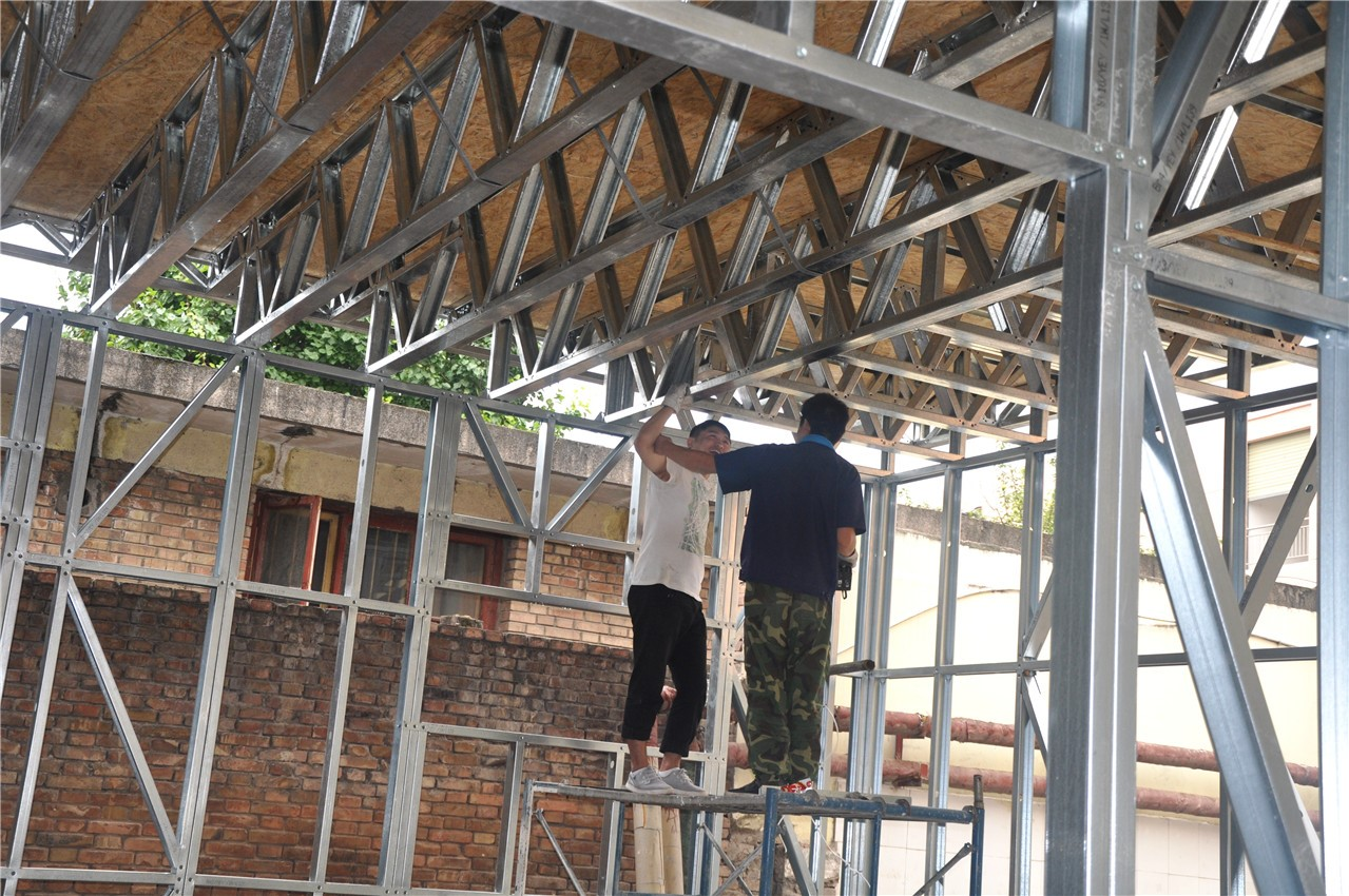 天水市麦积区建新路幼儿园轻钢房屋工程|案例展示-天水大成隆源建筑新材料有限公司