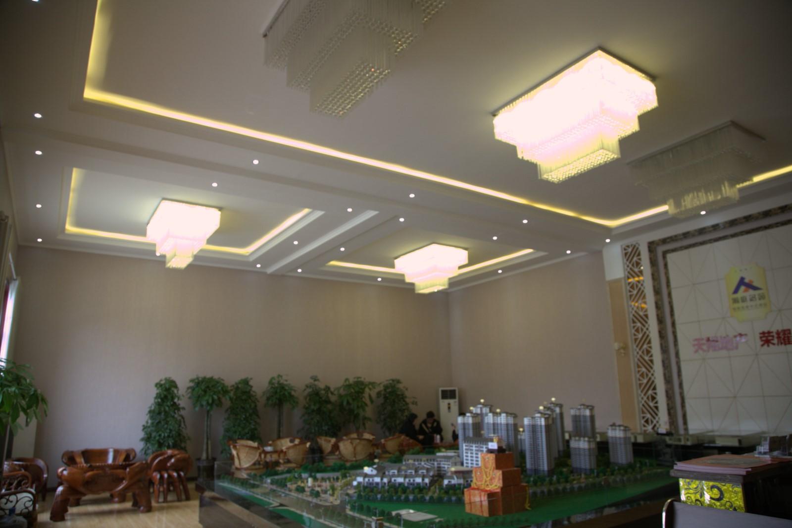 石马坪售楼部|案例展示-天水大成隆源建筑新材料有限公司