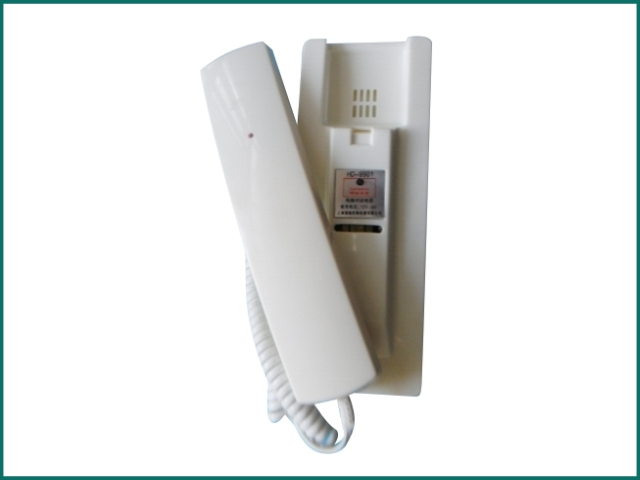 互生网站产品 elevator intercom phone HD-9901 , Master Interphone HD 9901.jpg