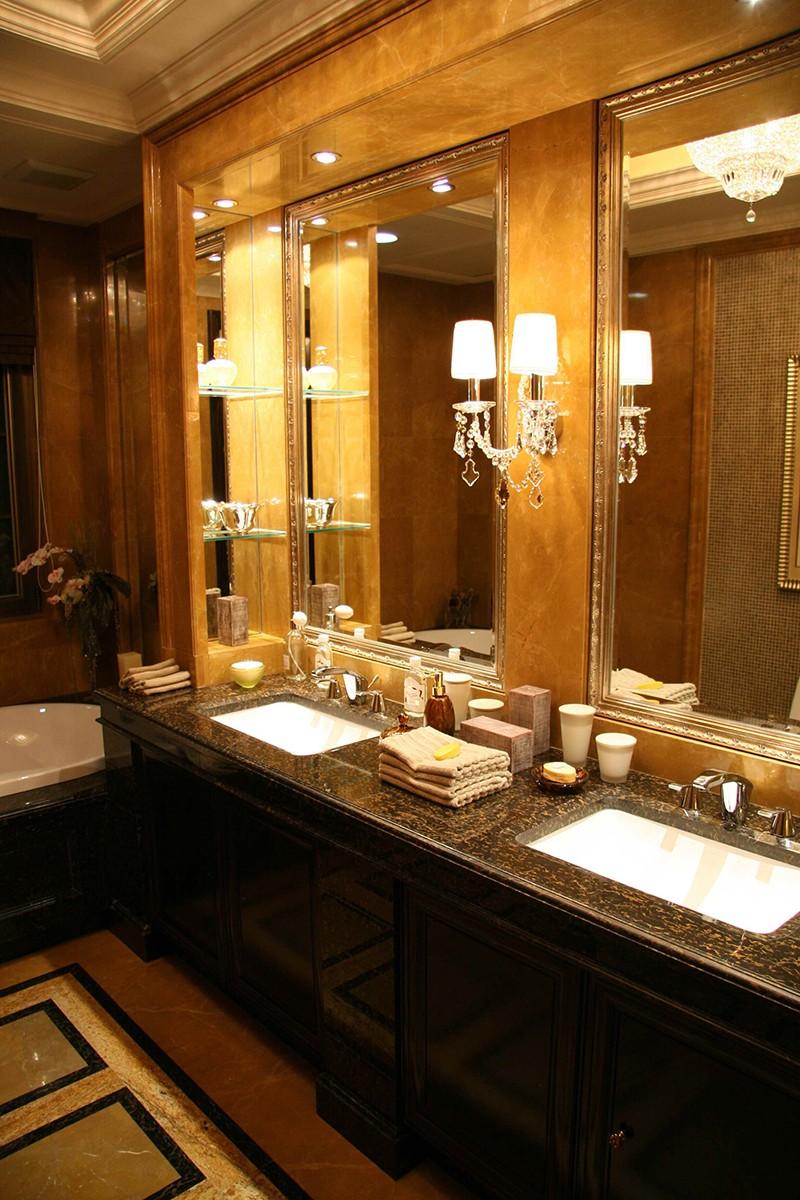 别墅装修案例—洗手间