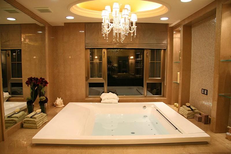 别墅装修案例-浴室