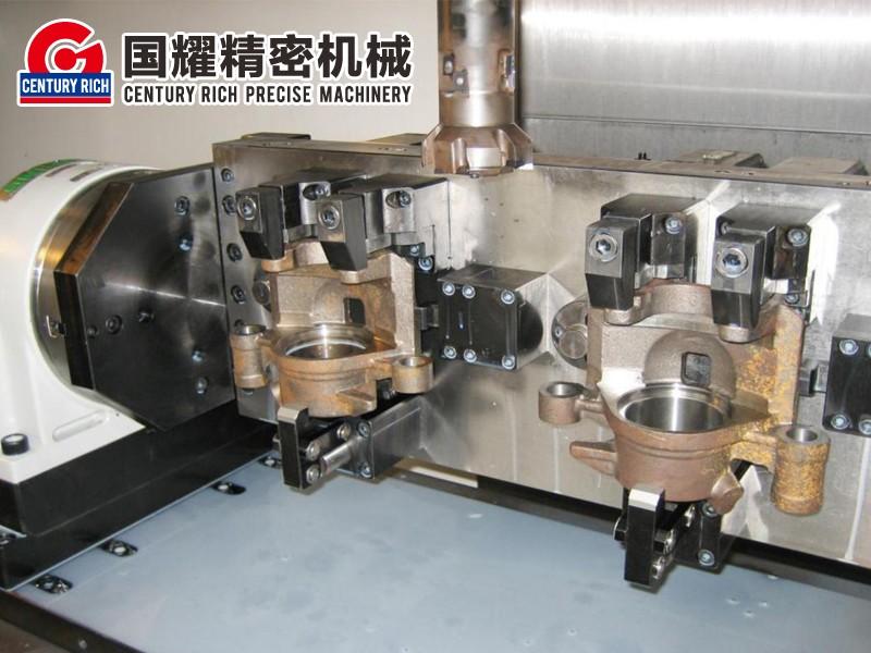 液壓轉臺夾具