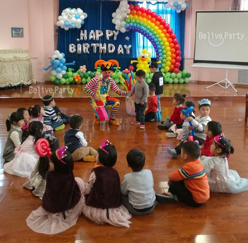 济南伊顿幼儿园集体生日会