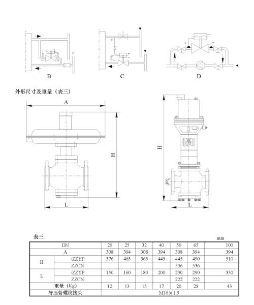 ZZYP型自力式微压调节阀