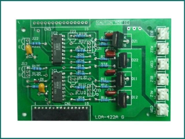 互生网站产品 Mitsubishi Elevator control box pcb , elevator pcb 422-G02 LOA-422A.jpg