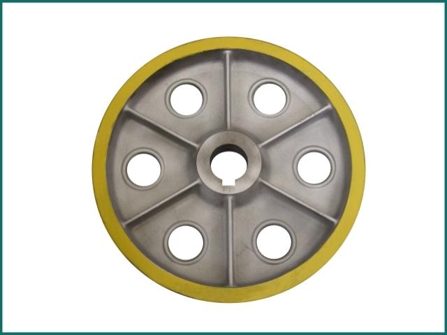 互生网站产 lg elevator roller KM975796 , step roller for lg sigma escalator.jpg