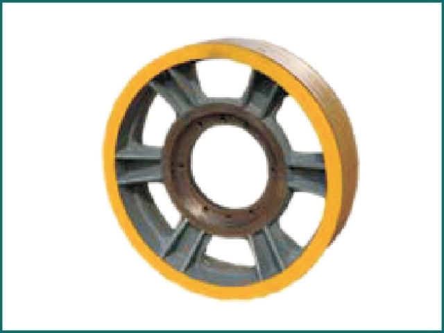 互生网站产 mitsubishi elevator traction wheel , elevator traction wheel.jpg