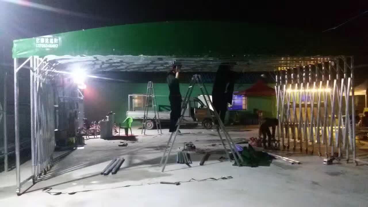 推拉篷|推拉篷-山东亿彩达遮阳节能科技有限公司