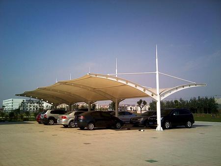 潍坊膜结构车棚的三大优势与制作步骤