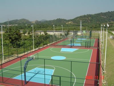 重庆硅Pu塑胶球场诠释硅PU篮球场的魅力
