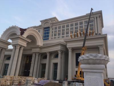 重庆grc构件装饰出来的奢华别墅