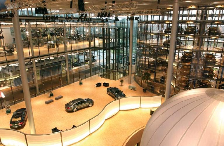 德国大众汽车生产线(图)