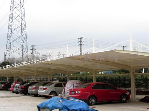 金邦铝业膜结构车棚过年前好停车啦1.jpg