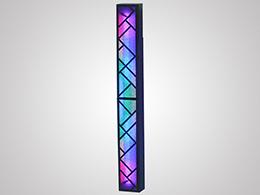 透光水泥光彩灯柱