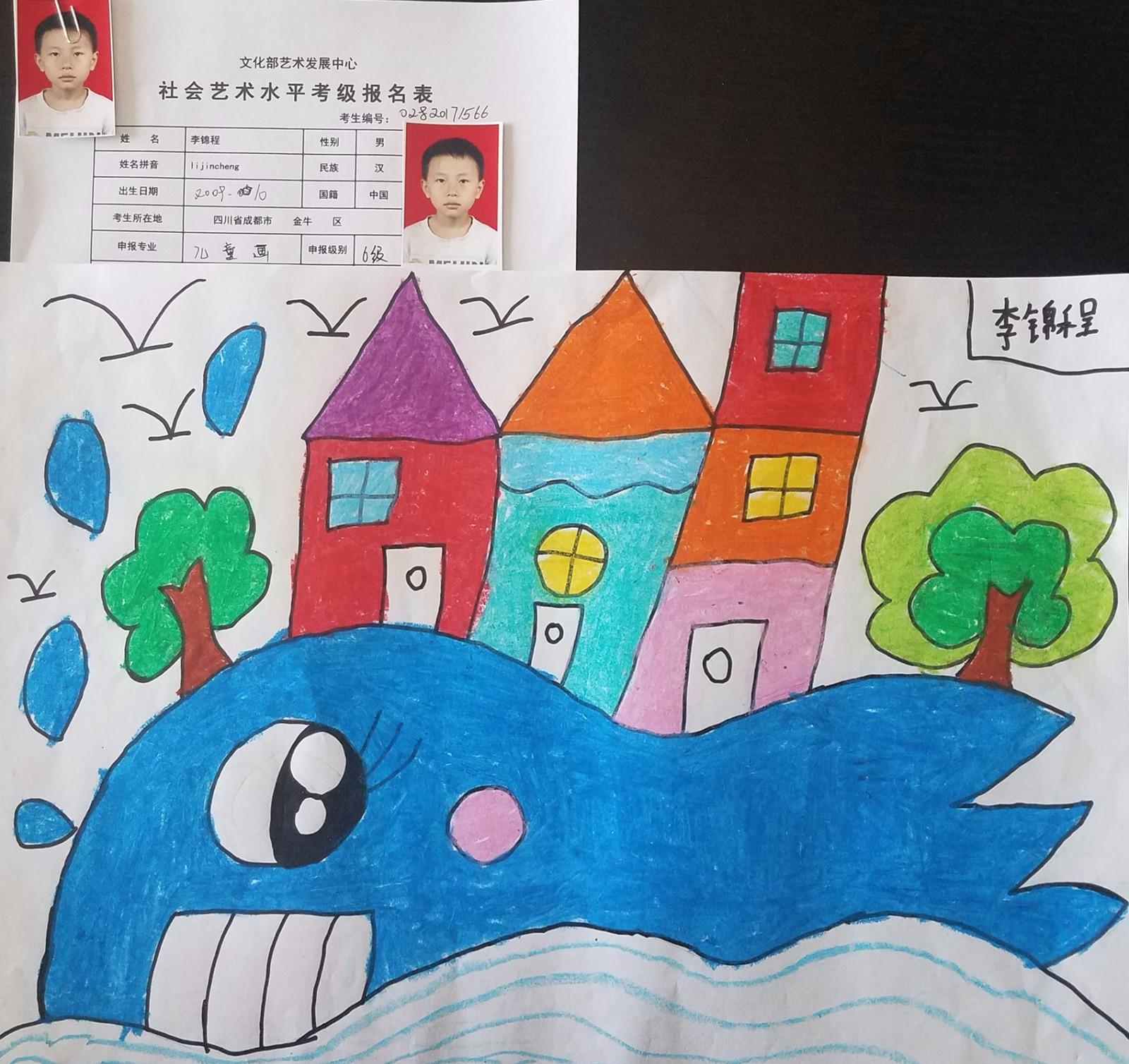 幼儿园2017考级作品展  2017-07-03 来自:  四川星校教育科技图片