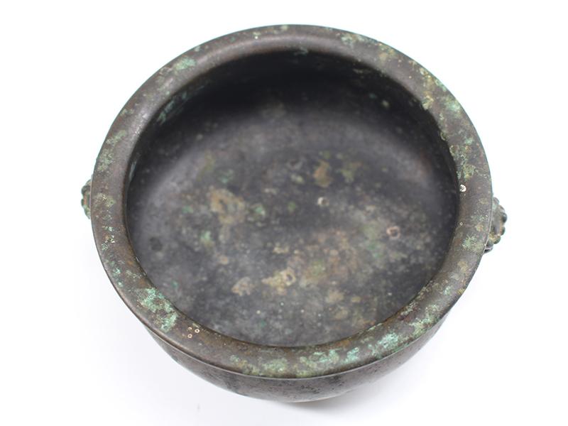 兽首黄铜香炉 古董-泉州鼎尚文化艺术品有限公司