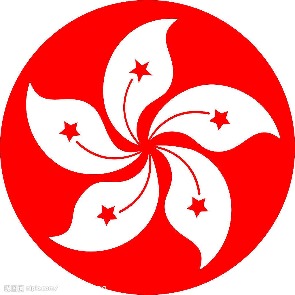 香港地标矢量图