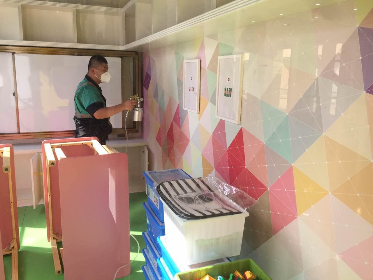 红安麦太儿童之家新开张除甲醛治理|新闻动态-武汉小小叶子环保科技有限公司