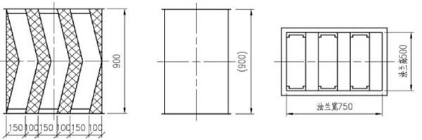 ZKS折板式消聲器