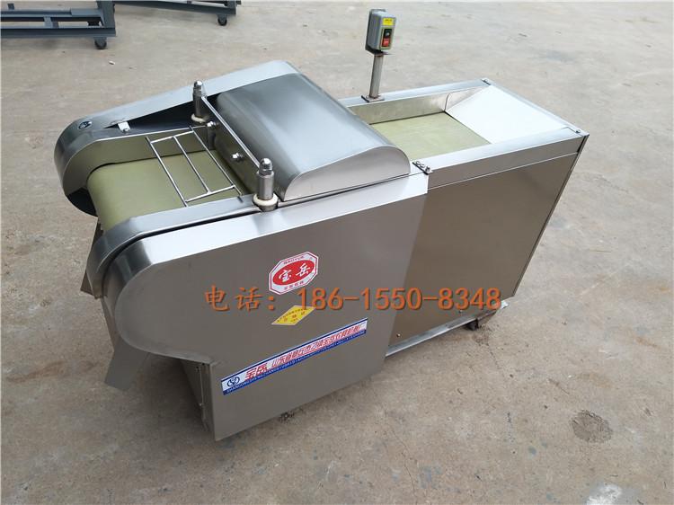 大型切豆干切方块机厂家豆腐皮切丝机视频鸡蛋干切片机|YQC660/1000型系列切菜机-济南宝岳食品机械有限公司