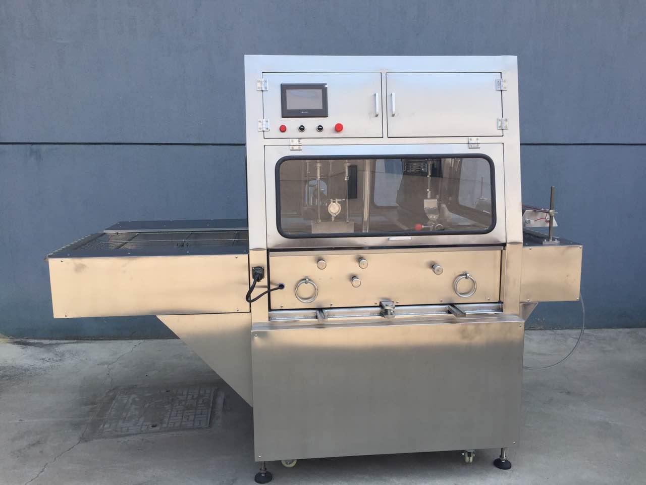 巧克力涂层机/巧克力涂层设备/巧克力生产线|切块机系列-上海雪冰食品有限公司