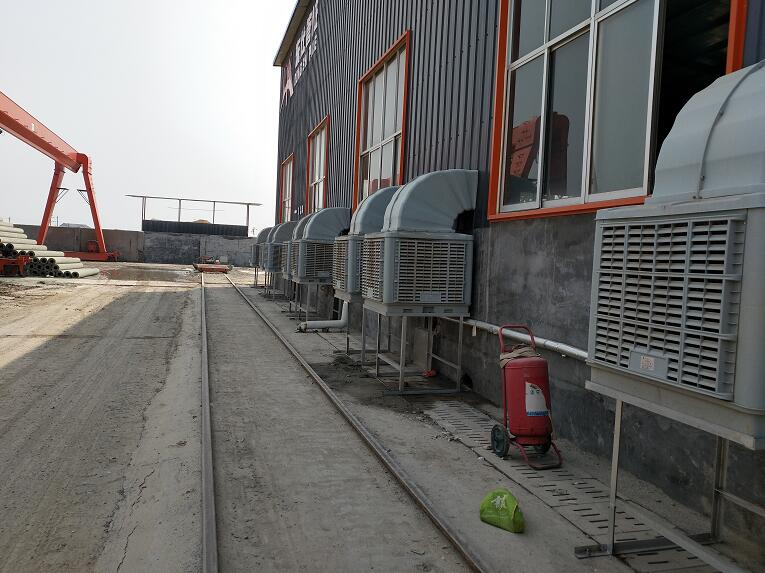 机械制造车间厂房降温案例|工程案例-德州立山环保设备有限公司