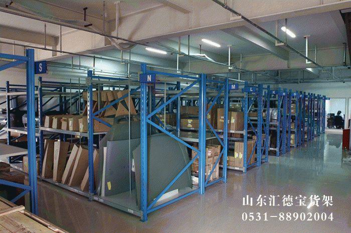 潍坊货架厂浅谈选便携式折叠货架的好处