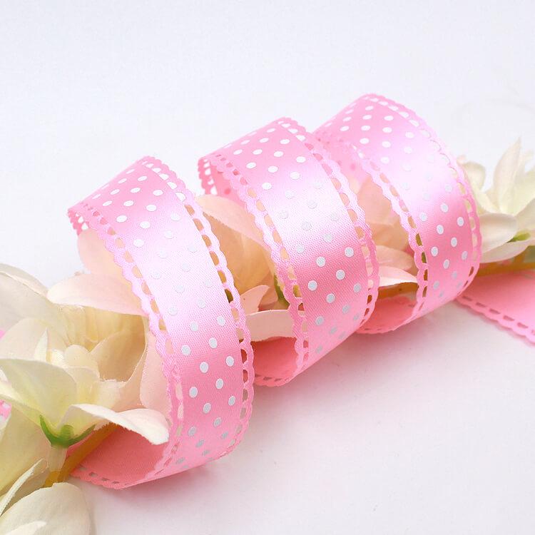 压花 耳提缎带|压花(勾花)-厦门鹭得织带饰品有限公司