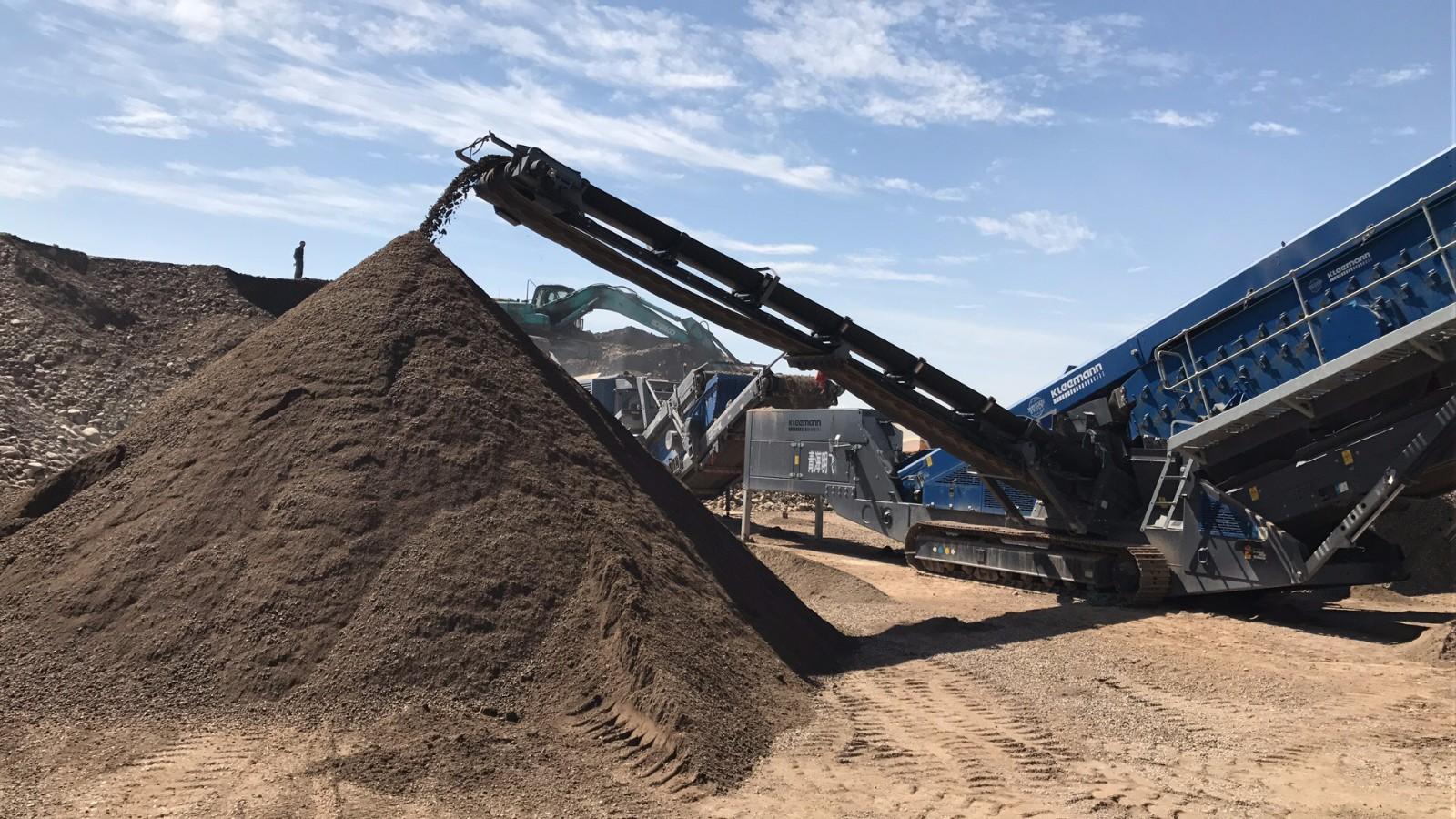 砂石生产|明飞动态-青海明飞投资发展有限公司