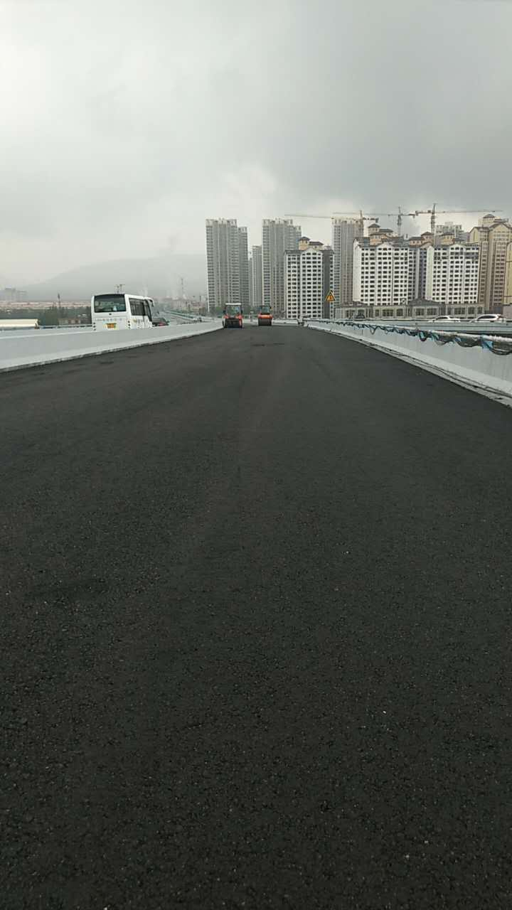 湟旱路高架桥施工现场|明飞动态-青海明飞投资发展有限公司