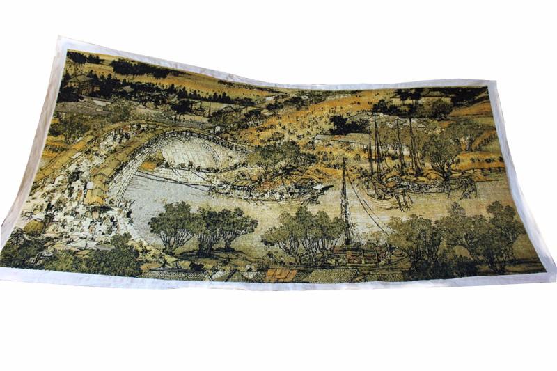 十字绣(清明上河图) |古玩字画-泉州鼎尚文化艺术品有限公司
