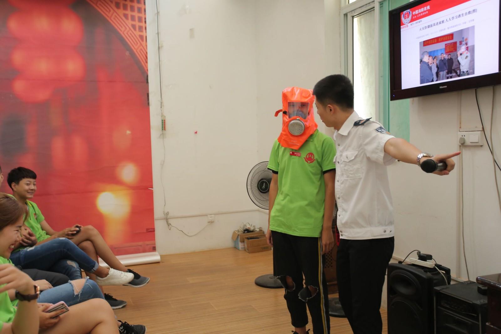 摄影培训学校-秋季消防演讲 校园活动-济南人像摄影职业技能培训学校