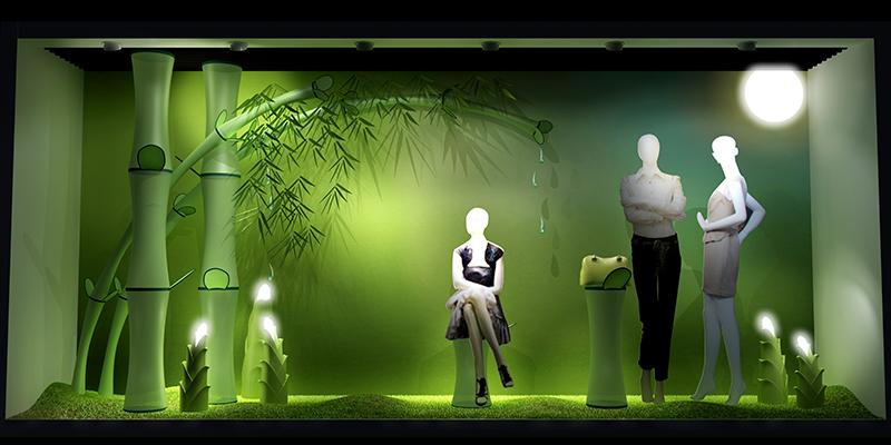 POSSNEY -出彩主题橱窗|商业空间-厦门市嘉维世纪会展服务有限公司