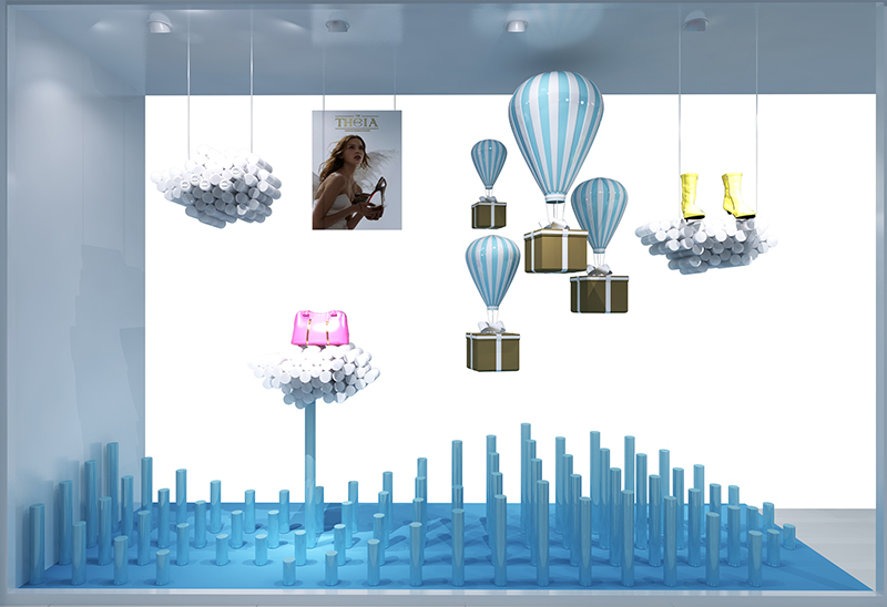theia橱窗|商业空间-厦门市嘉维世纪会展服务有限公司