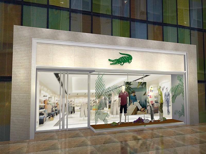 鱷魚男裝專賣店|商業空間-廈門市嘉維世紀會展服務有限公司