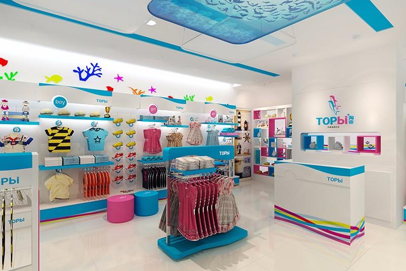 淘帝童裝-海洋主題|商業空間-廈門市嘉維世紀會展服務有限公司