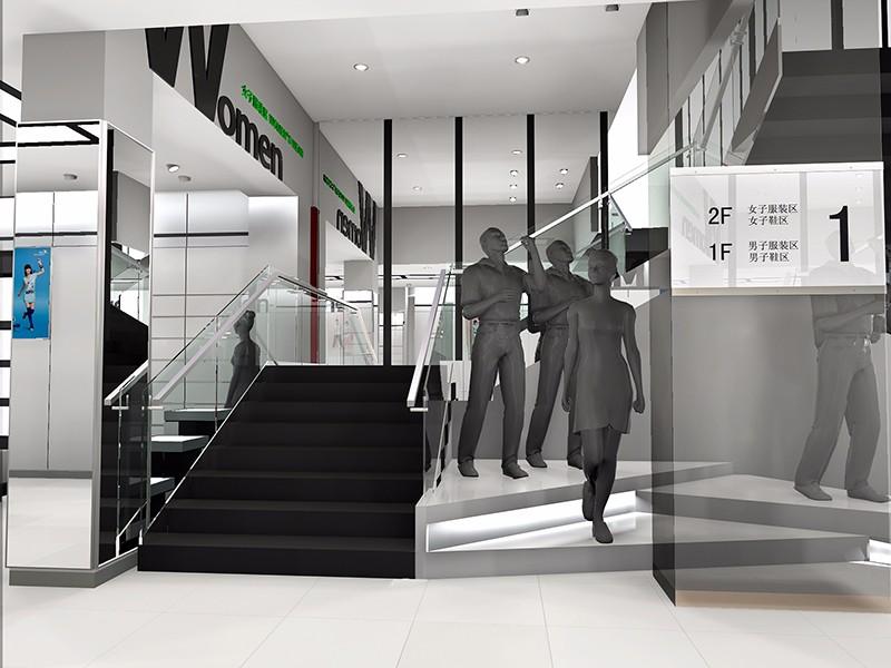 特步专卖店|商业空间-厦门市嘉维世纪会展服务有限公司