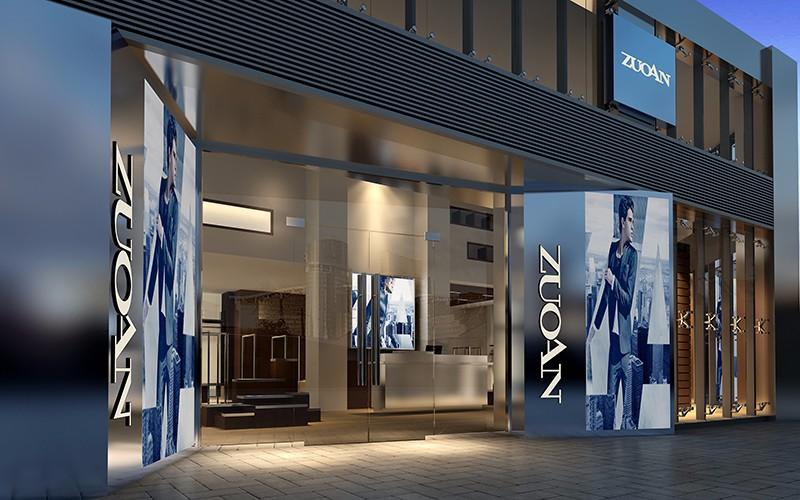 佐岸男装专卖店设计|商业空间-厦门市嘉维世纪会展服务有限公司