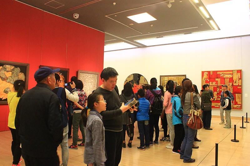 2016 美丽厦门—当代美术作品晋京展 艺术展板-厦门市嘉维世纪会展服务有限公司