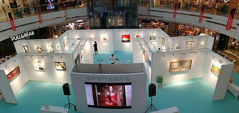藝術廈門走進萬達|藝術展板-廈門市嘉維世紀會展服務有限公司