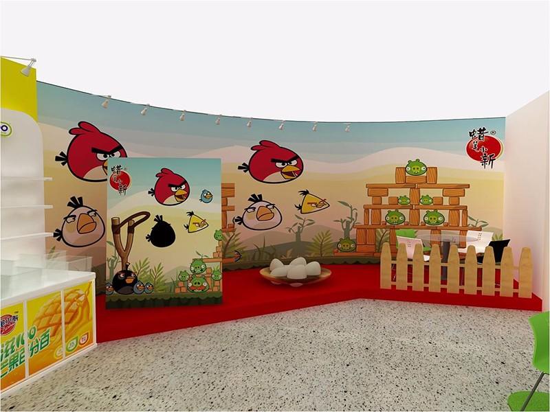 2014蜡笔小新食品展|展览特装-厦门市嘉维世纪会展服务有限公司