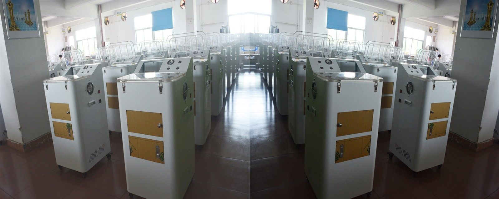 生产车间|手机真空防水镀膜机生产车间-东莞市兴族(纳米科技)实业有限公司