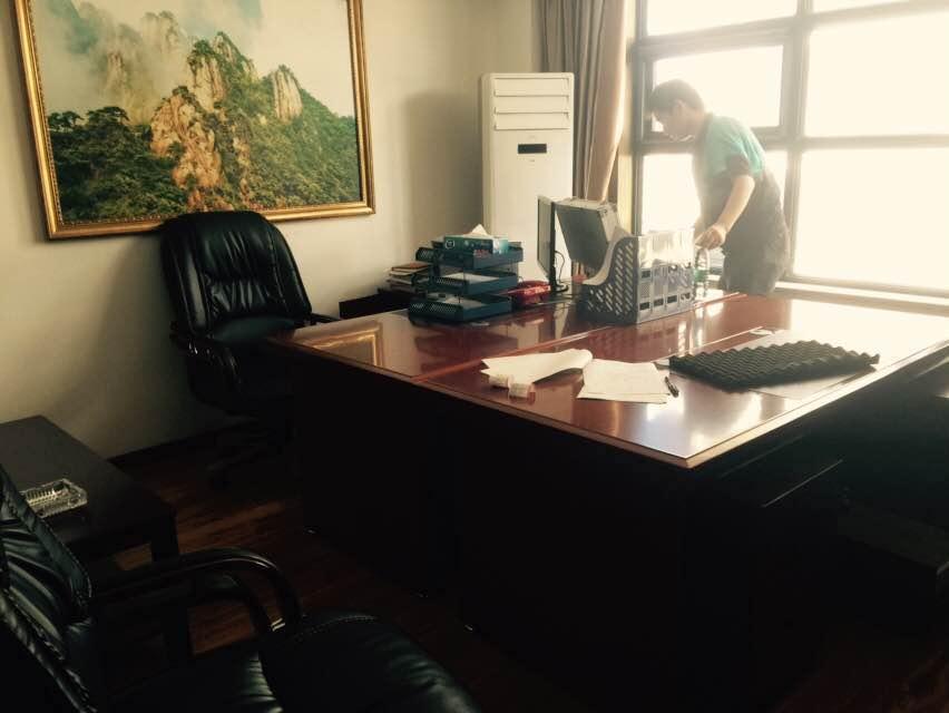 武汉盘龙水务建设投资发展有限公司办公楼除甲醛治理|企事业单位除甲醛空气净化治理-武汉小小叶子环保科技有限公司