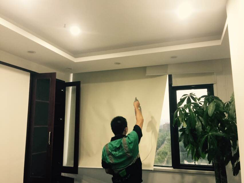 武汉江夏佩尔中心某办公室除甲醛|新装修写字楼除甲醛空气净化治理-武汉小小叶子环保科技有限公司