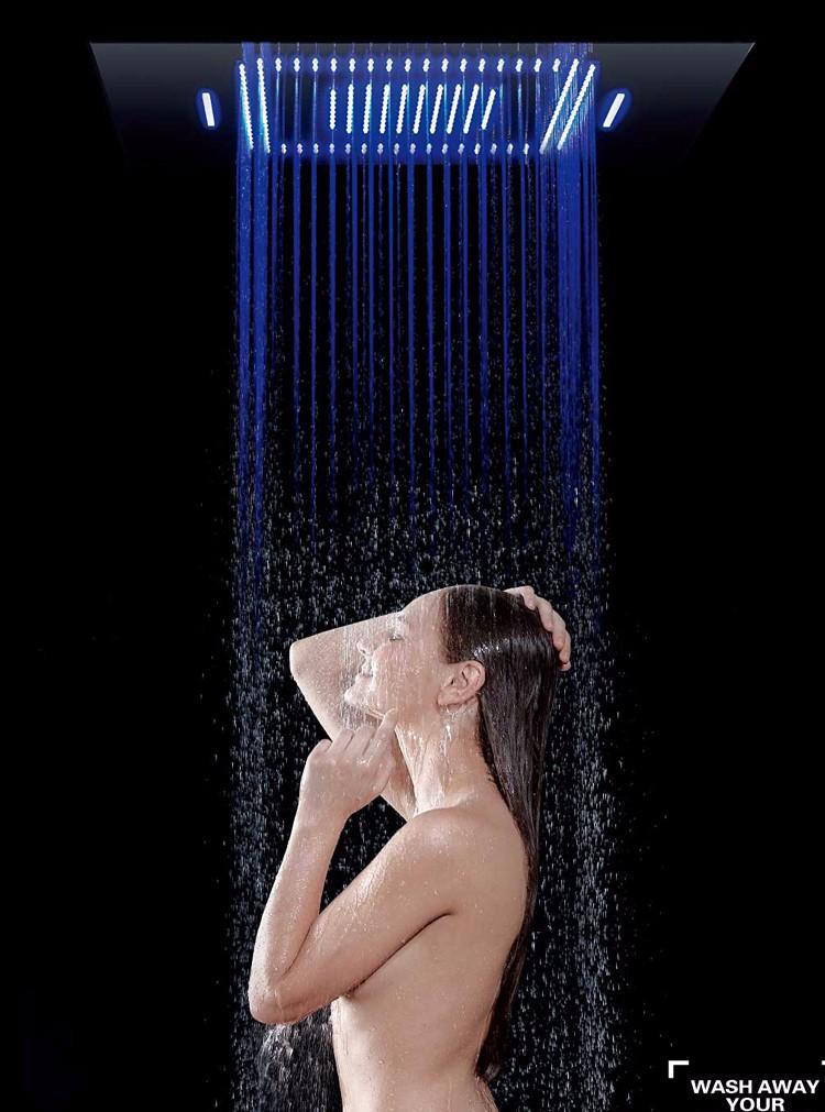 保健暗装淋浴